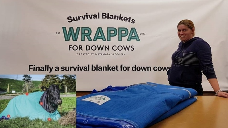 Wrappa for Down Cows